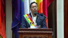Arce: Gobierno de facto de Añez arrebató la democracia y economía