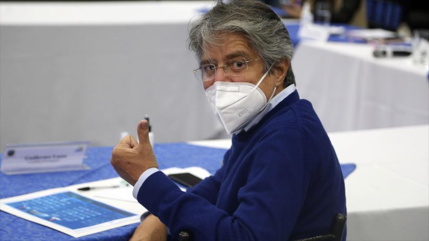 CNE de Ecuador: Lasso será el rival de Arauz en la segunda vuelta