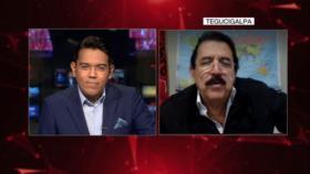 Zelaya en entrevista con HispanTV denucnia las políticas de EEUU