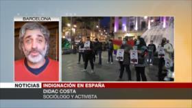 """Costa: España está demostrando que es una democracia """"menguante"""""""