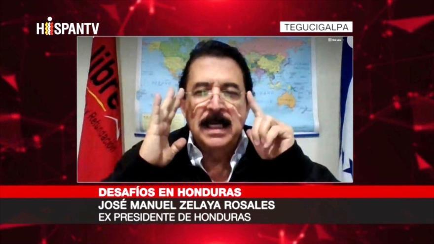 """Zelaya a HispanTV: EEUU impuso un """"gobierno títere"""" en Honduras"""