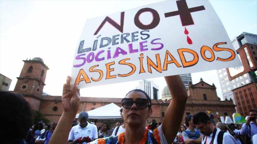 Exigen el fin de asesinatos de líderes indígenas en Colombia | HISPANTV