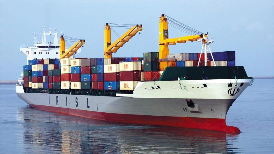 Un carguero de la República Islámica de Irán.