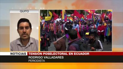 'Tras presidenciales, Ecuador vive incertidumbre electoral'