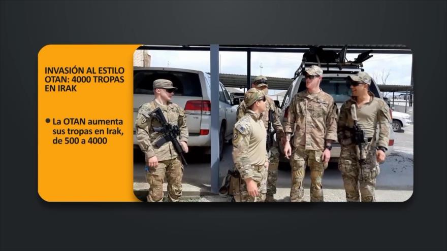 PoliMedios: Invasión al estilo OTAN, 4000 tropas en Irak