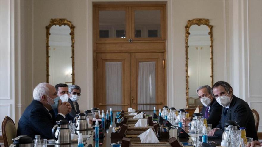 Canciller iraní y jefe de la AIEA discuten la cooperación bilateral | HISPANTV