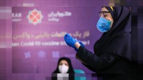 Vacuna iraní es efectiva contra la cepa británica de coronavirus