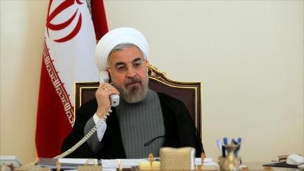 Irán pide unidad entre países soberanos contra sanciones de EEUU