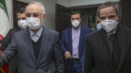 """Irán y la AIEA alcanzan un """"acuerdo técnico bilateral temporal"""""""