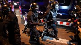 Barcelona vive sexta jornada de protestas contra arresto de Hasél
