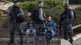 Israel detiene a dos niños de 6 y 8 años al noreste de Al-Quds