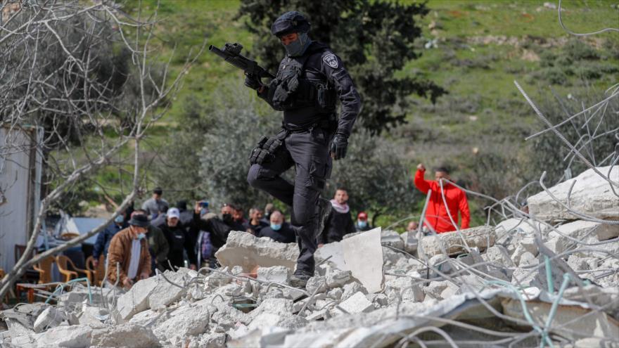 Israel reprime a palestinos indignados por destrucción de sus casas