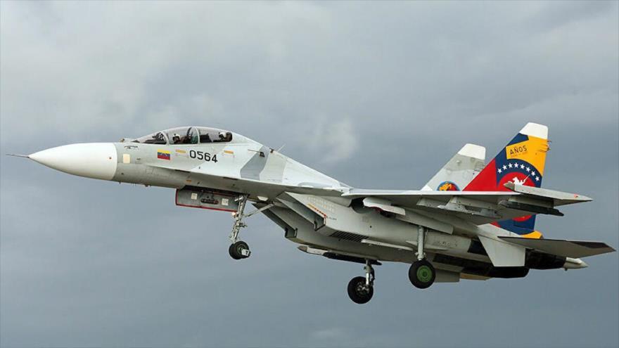 El avión de combate de Venezuela, SUKHOI-30 MK2.