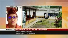 Senadora colombiana: Duque solo simula implementar acuerdo de paz