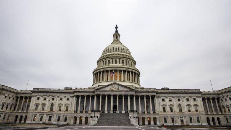 Edificio del Capitolio de Estados Unidos, sede del Congreso del país norteamericano, Washington D.C. (la capital), 13 de febrero de 2021. (Foto: AFP)