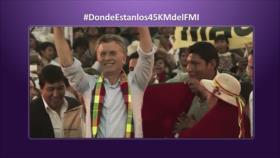 Etiquetaje: ¿Dónde están los dólares que recibió Macri del FMI?