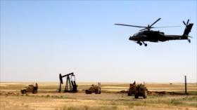 EEUU envía dos helicópteros con armas y misiles a su base en Siria