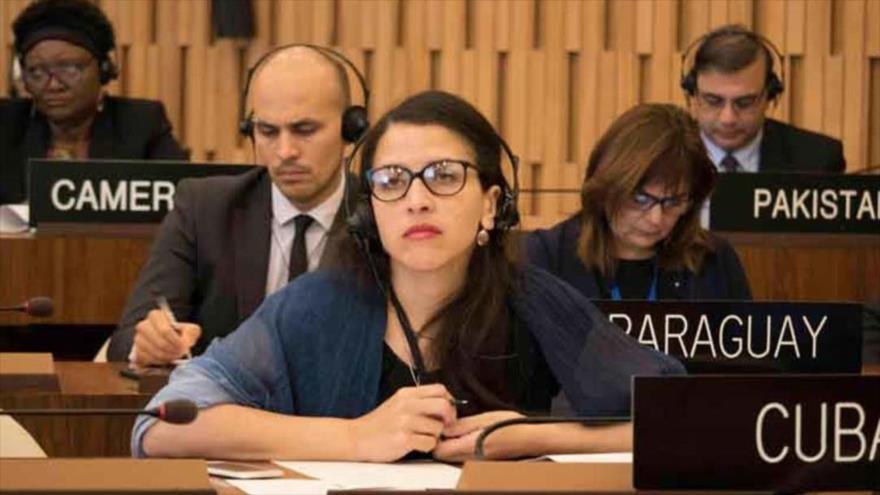 Yahima Esquivel, embajadora permanente de Cuba ante la Organización de las Naciones Unidas para la Educación, la Ciencia y la Cultura (Unesco).