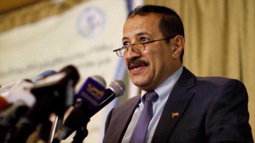 El canciller del Gobierno de Salvación Nacional yemení, Hesham Sharaf Abdulá.