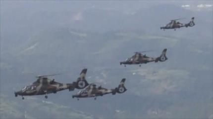 Bombarderos chinos realizan maniobras ante el despliegue de EEUU