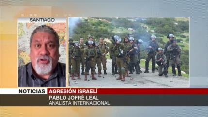 Jofré Leal: Israel goza de protección e impunidad de Europa y EEUU