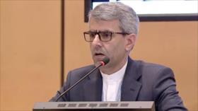 Irán: EEUU debe dar primer paso para salvar pacto nuclear
