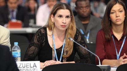 Venezuela alaba conducta profesional de su embajadora en Bruselas
