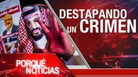 El Porqué de las Noticias: Sanciones contra Irán. Asesinato de Yamal Khashoggi. Panamá