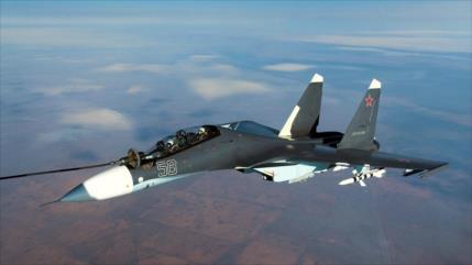 Rusia envió 40 cazas y drones a misiones de vigilancia en fronteras