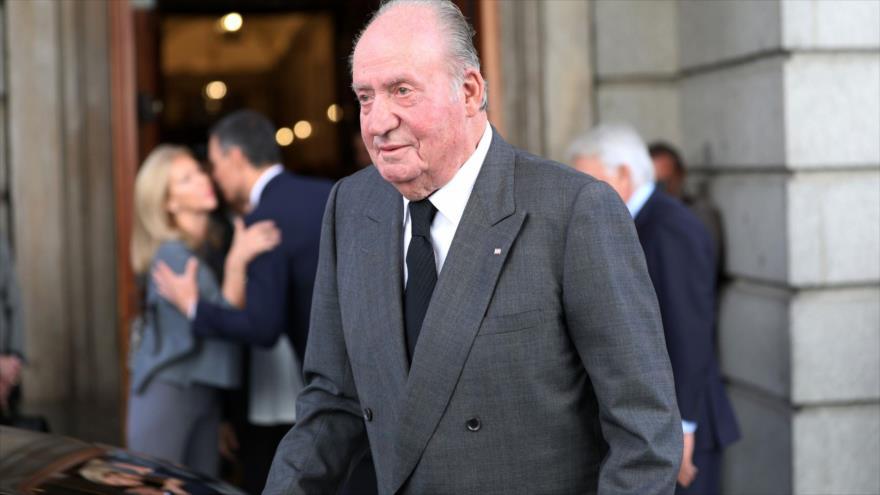 El rey emérito de España Juan Carlos I.