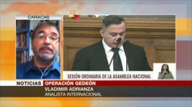 Adrianza: EEUU y socios financiaron Operación Gedeón contra Maduro
