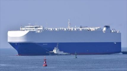 Fotos: Explosión en un barco israelí a su paso por el mar de Omán