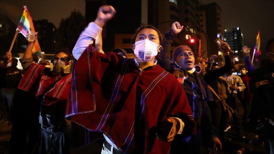 Indígenas indignados: CNE de Ecuador niega pedido de Yaku Pérez