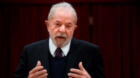"""Lula: No se puede seguir con el gobierno """"genocida"""" de Bolsonaro"""