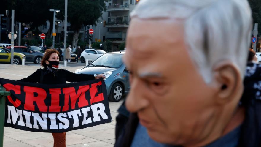 Vídeo: Israelíes celebran otro sábado de protestas anti-Netanyahu