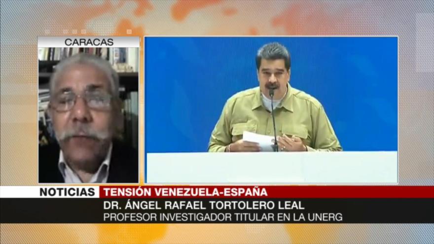 'España en línea con la UE se propone injerir en Venezuela'