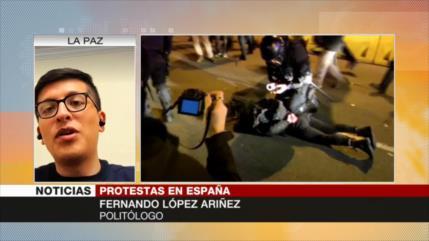 'Marchas en España se agudizarán hasta solventar los reclamos'