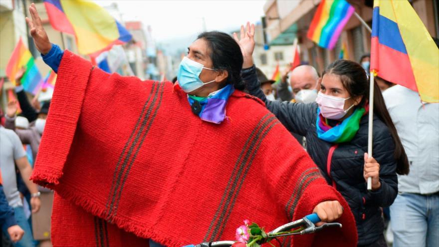 Indígenas tomarán acciones de presión por fraude electoral en Ecuador   HISPANTV
