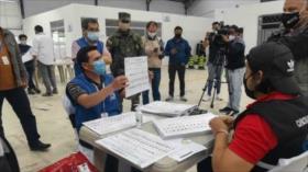 Concluye recuento de 31 actas electorales impugnadas en Ecuador