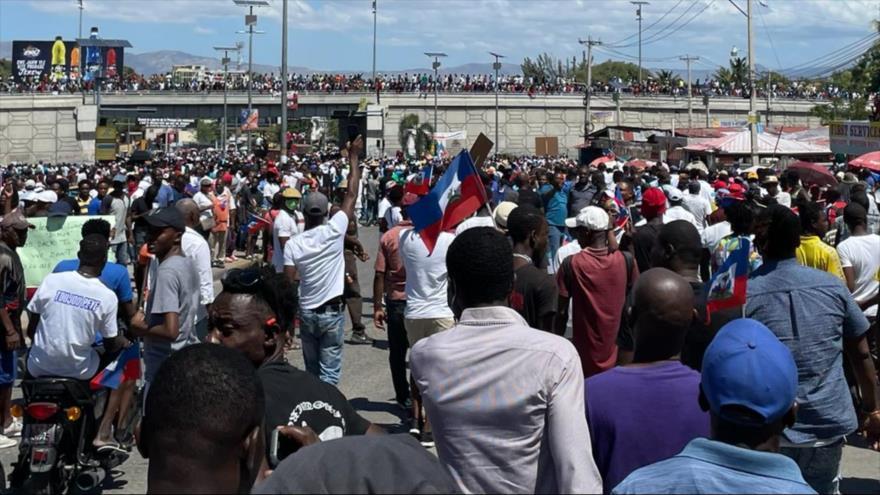 Miles de haitianos vuelven a exigir la renuncia de Jovenel Moise