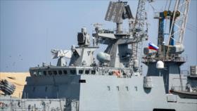 Fotos y vídeo: Primer buque de guerra de Rusia llega a Sudán
