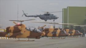 FFAA de Irán reciben nuevos aviones de combate y helicópteros