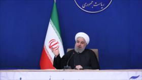 Rohani: EEUU tendrá que arrodillarse ante Irán y levantar sanciones