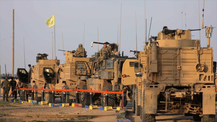 Fuerzas y camiones de EE.UU. en Deir Ezzor, Siria, 23 de marzo de 2019. (Foto: Reuters)