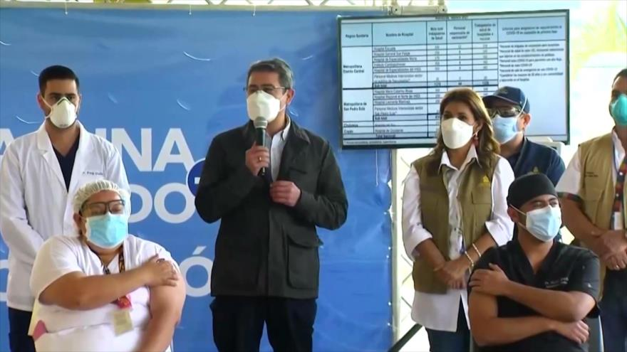 Nuevo acto de corrupción en Honduras por vacunas contra COVID-19