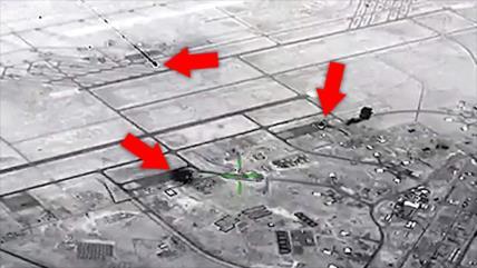 EEUU desclasifica un vídeo del ataque de Irán a su base en Irak