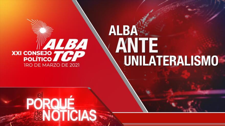 El Porqué de las Noticias: Destino de acuerdo nuclear. Consejo política de ALBA. Denuncia contra Macri