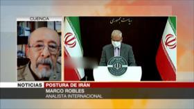 Robles: La diplomacia iraní revela la arrogancia global de EEUU