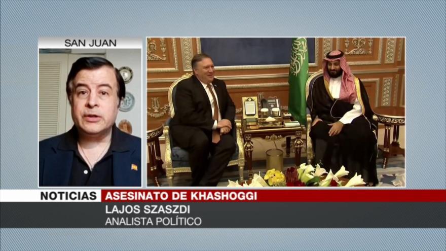 Szaszdi: Demanda contra Muhamad bin Salman es algo simbólico