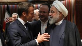 Irán a Francia: Al pacto nuclear solo lo salva el fin de sanciones